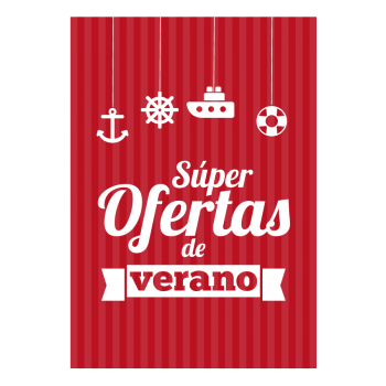 Super Oferta Mod. Firgas - Rojo